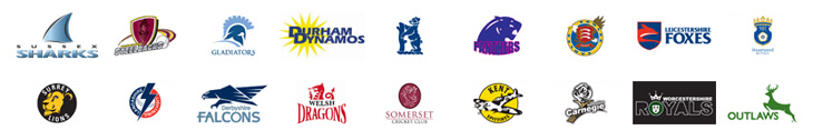 Friends Life T20 Teams Logos